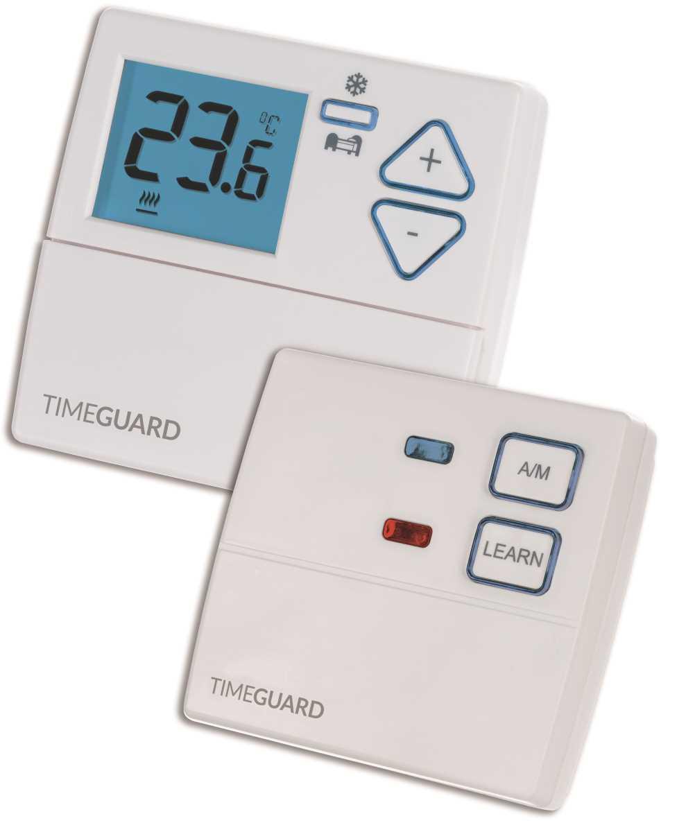 Timeguard TRT047N Wireless Digital Room Thermostat with Night Set Back