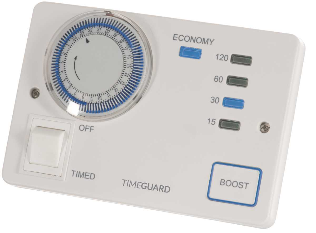 Timeguard TRTM7N Economy 7 Analogue Timeswitch with Boost Control
