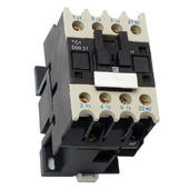 Contactor AC 3P 4KW 9A 24V 1NO Aux