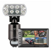 ESP GUARD-CAM-WF-M LED Security Flood with Wireless Monitor