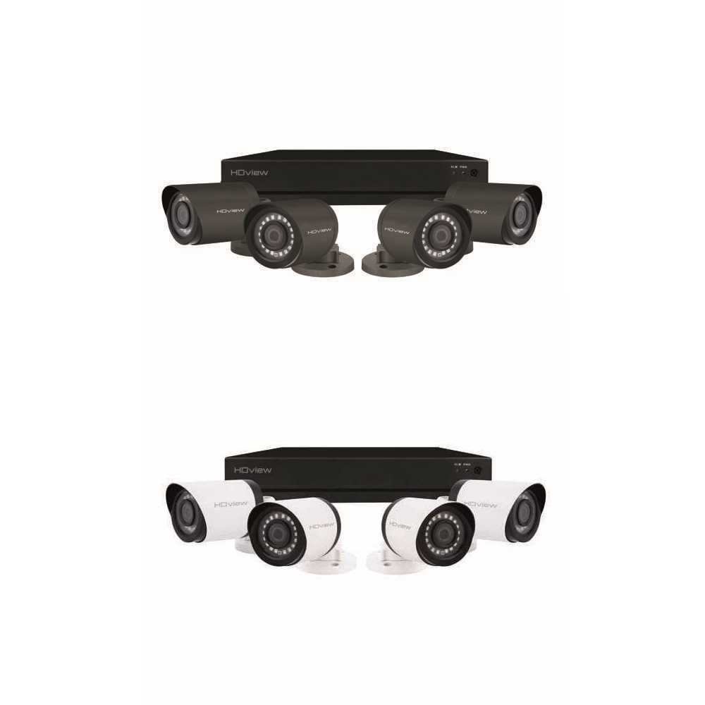 ESP 4 Channel 4MP CCTV Kit with 4 Bullet Cameras