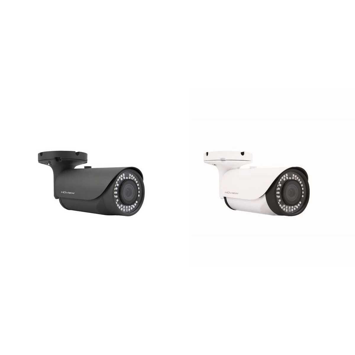 ESP 5-50mm Lens 4MP Super HD Grey White Bullet CCTV Cameras