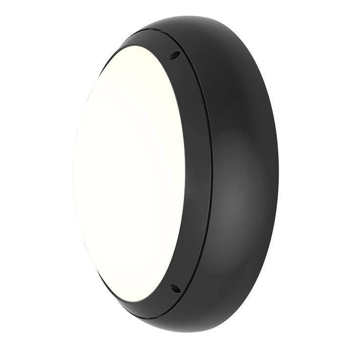 Ansell Vision 3 20w LED  IP65 Graphite Bulkhead Light