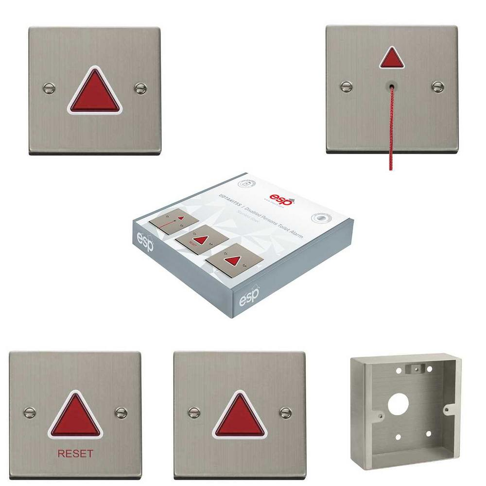 ESP Stainless Steel Disabled Alarm Kit and Accessories