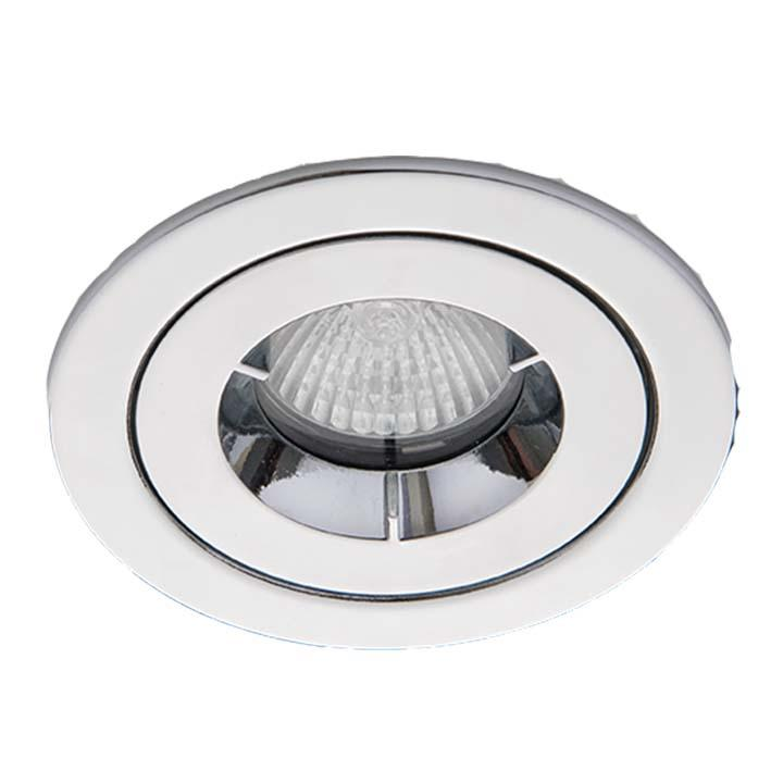 Ansell iCage Mini IP65 LED Downlight Chrome Fire Rated