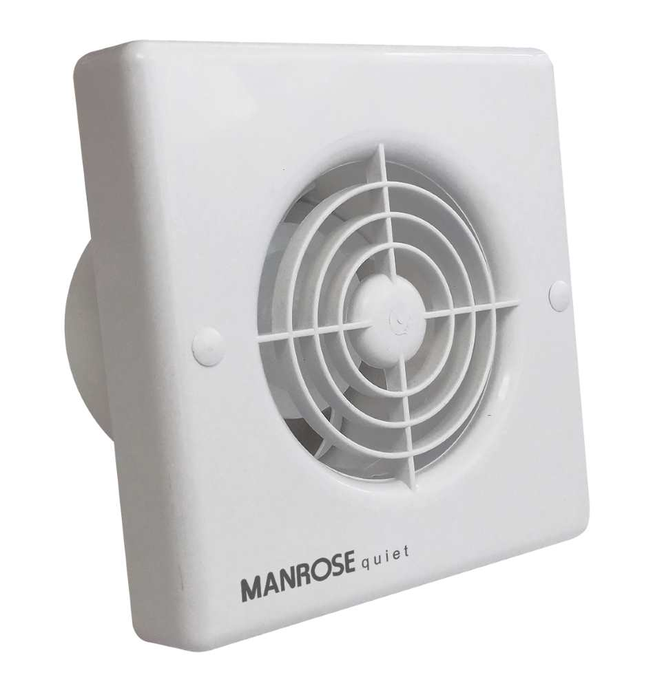 Manrose QF100X5 Zone 1 Quiet Extractor Fans 100mm 4