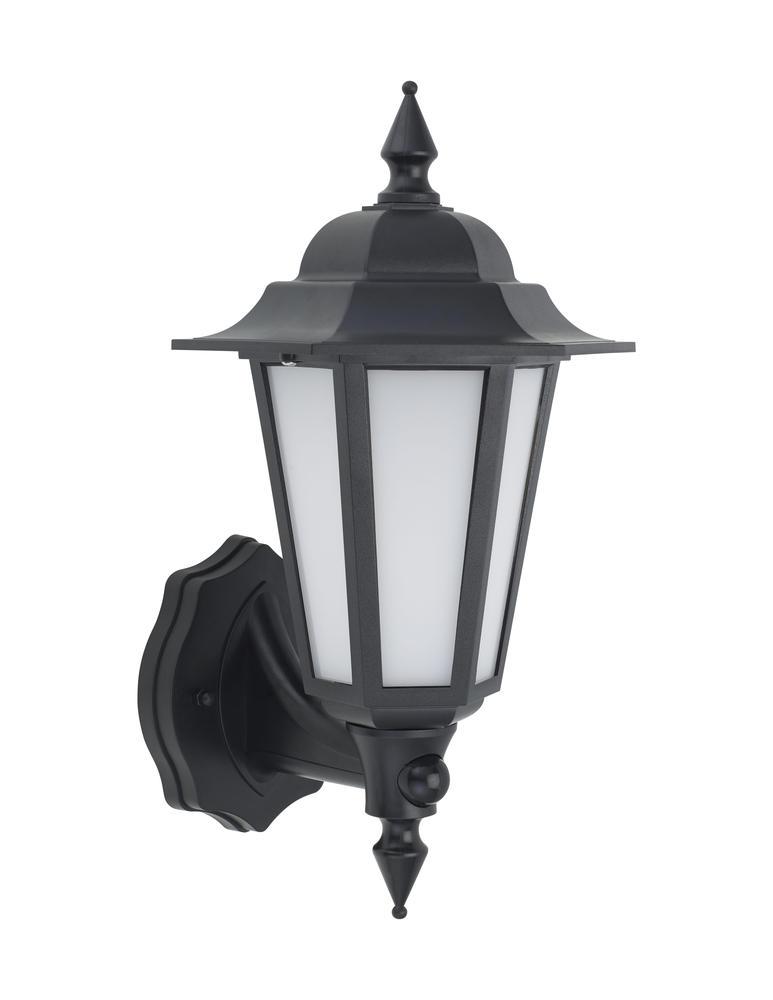 BELL 10351 Retro Vintage 8W LED Integrated PIR Lantern Black IP54