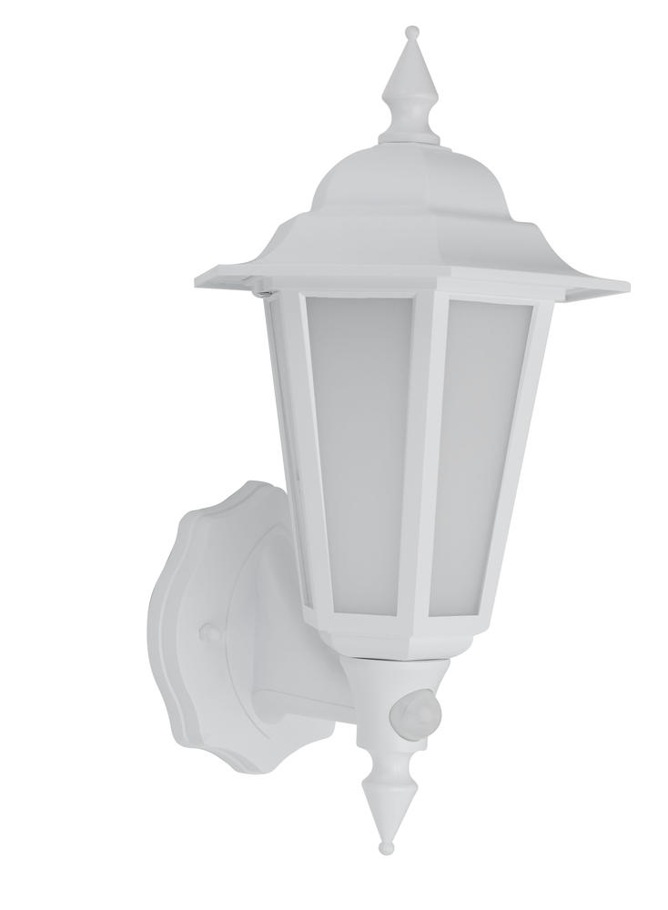 BELL 10355 Retro Vintage 8W LED Integrated PIR Lantern White IP54