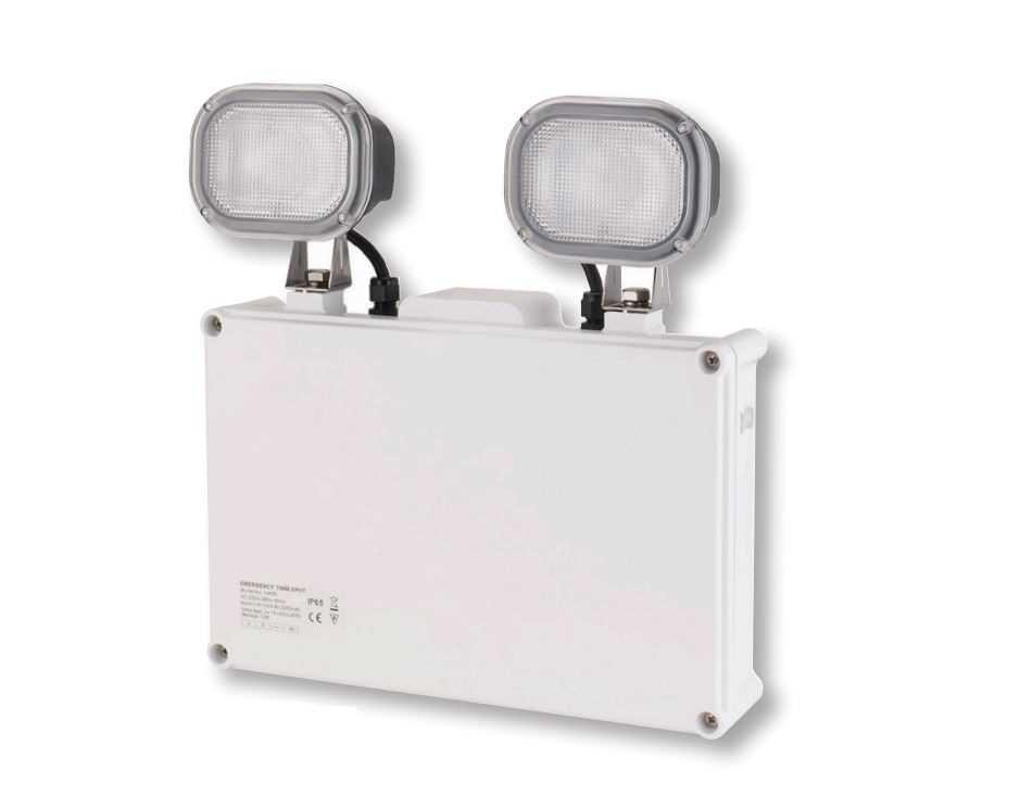 BELL 09047 Spectrum 6W LED NM Emergency Twin Spot IP65