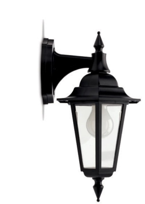 JCC Montella JC32011 60W GLS E27 Lantern with Top Arm