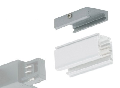JCC Pro3 Ceiling Bracket Track Connector White