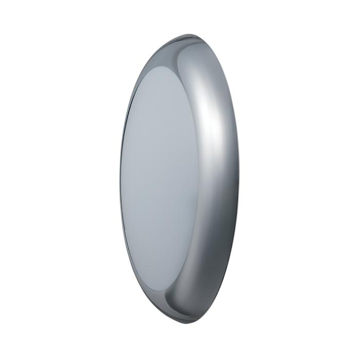 JCC RadiaLED Bulkhead Vogue Cool White 23W Emergency Chrome/Opal