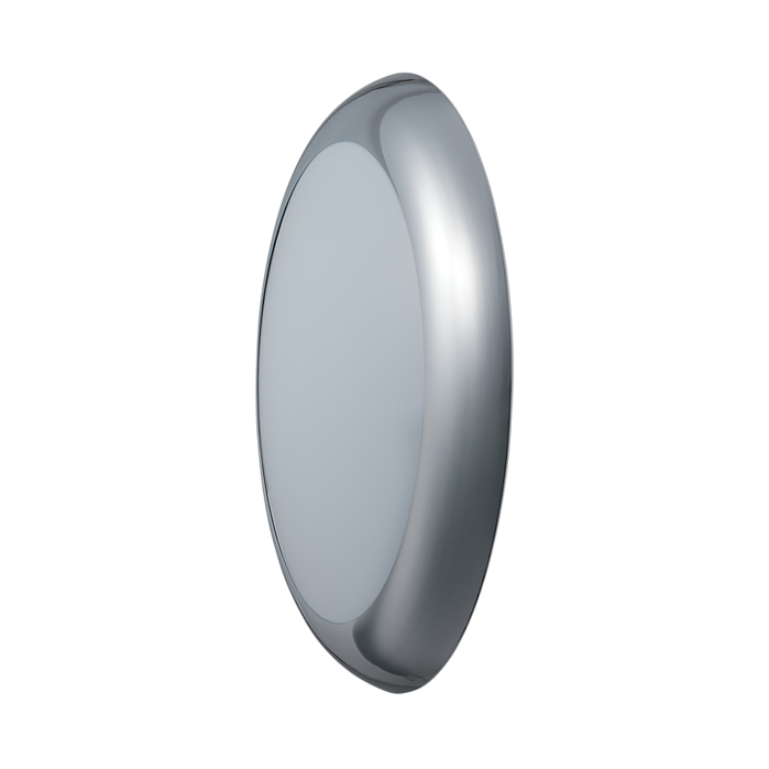 JCC RadiaLED Bulkhead Vogue Cool White 36W Emergency Chrome/Opal