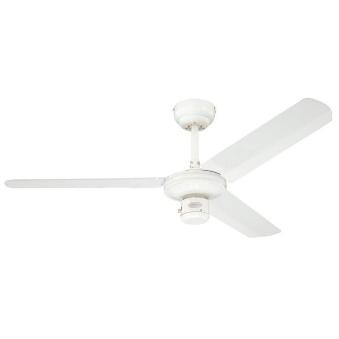 "Cheap Ceiling Fans Review: Industrial 48"" Westinghouse Ceiling Fan White"