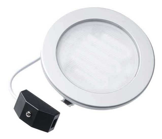 Megaman Planex Silver 7W GX53 Recessed Downlight