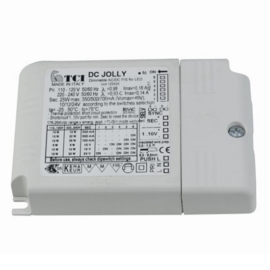 Ansell 25W Multicurrent LED  Dimmable Driver