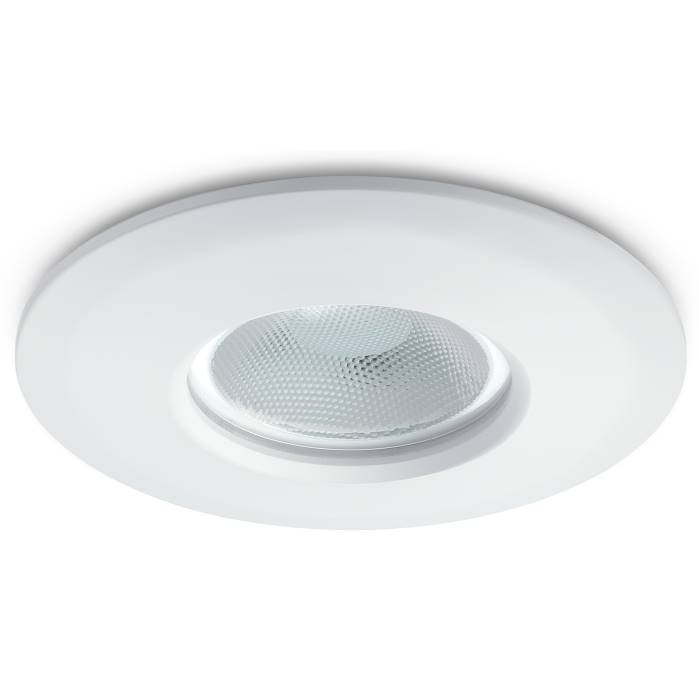 JCC FGLED10 Fire Rated Dimmable Emergency Downlight White WW