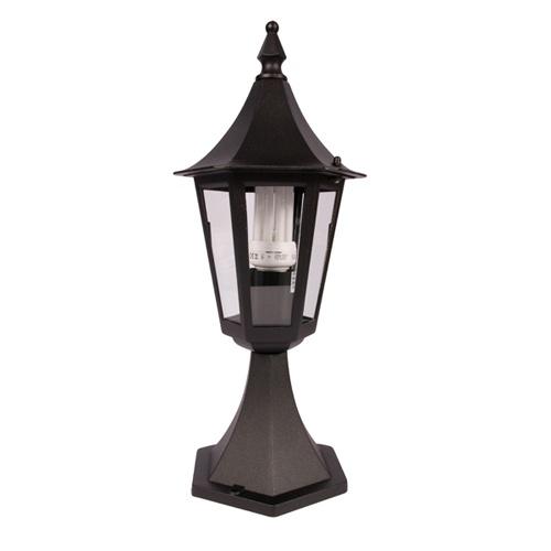 KSR Coria E27 Black Pillar Lantern