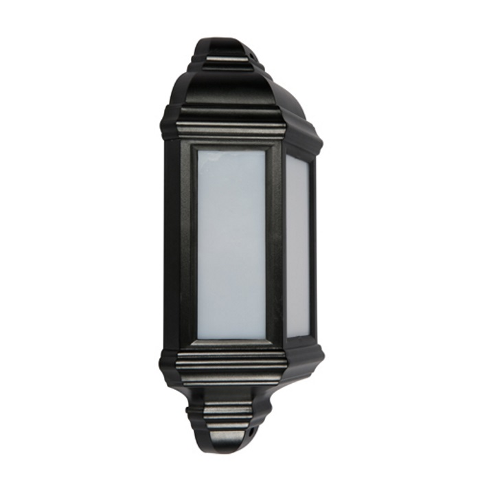 KSR Manta LED Half Lantern Black