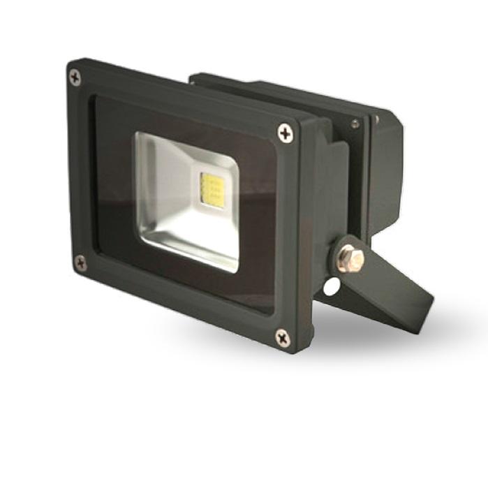 Lumineux 10w LED Black Floodlight