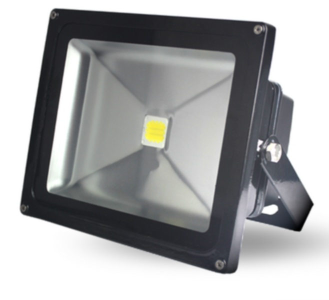 Lumineux 30w LED Black Floodlight