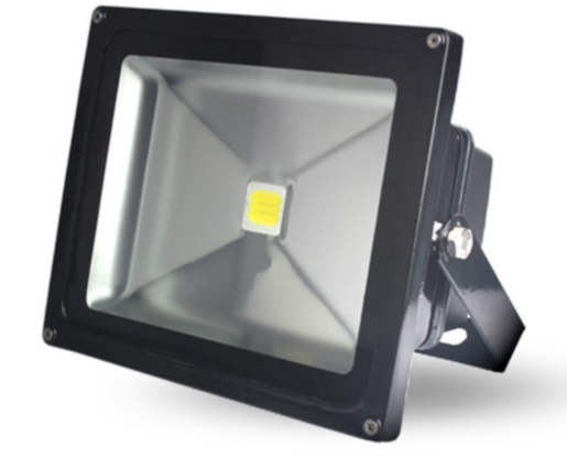 Lumineux 50w LED Black Floodlight