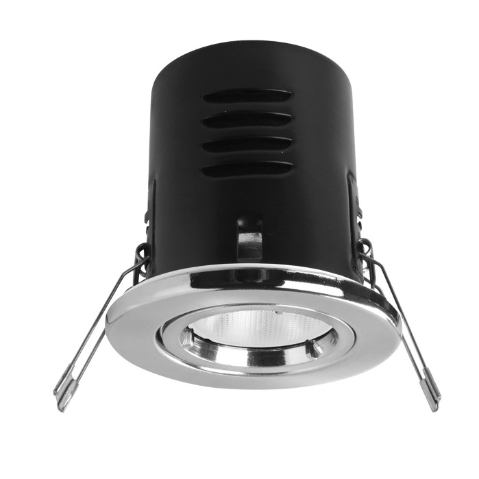 Megaman VersoFIT Fixed Satin Chrome 2800K LED Dimmable Downlight