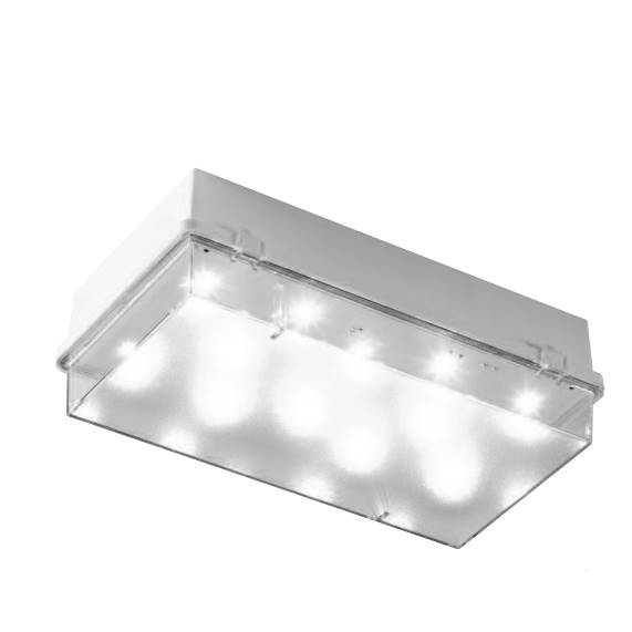 JSB Zetalite 3 LED Emergency Bulkhead Bricklight IP65