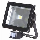 Lumineux 50w LED PIR Black Floodlight