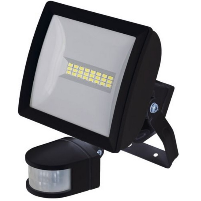 Timeguard LEDX10PIRB 10W Energy Saver Wide Beam PIR Floodlight Black