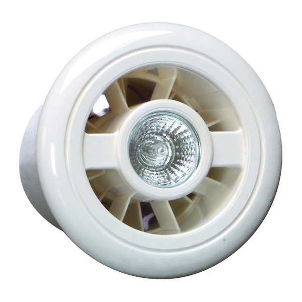 Vent Axia Luminair White Ventilation And Light Kit H With