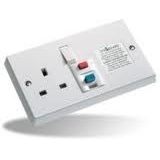 Timeguard RCD01W RCD Single White Socket