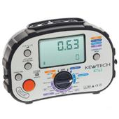 Kewtech KT63 Digital Multifunction Tester with Polarity Check