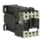 Contactor 3P 5.5KW 9A 12V DC 1NO Aux