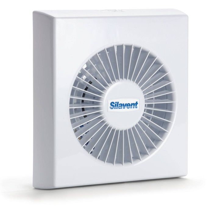 Adding A Bathroom Fan: Silavent SDF100TB 100mm Axial Fan With Timer