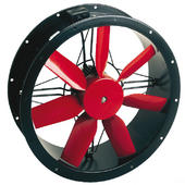 Compact Cased Axial Fan 4 Pole Three Phase 400mm (5,100m3/hr)