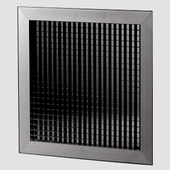 100mm internal egg crate grille