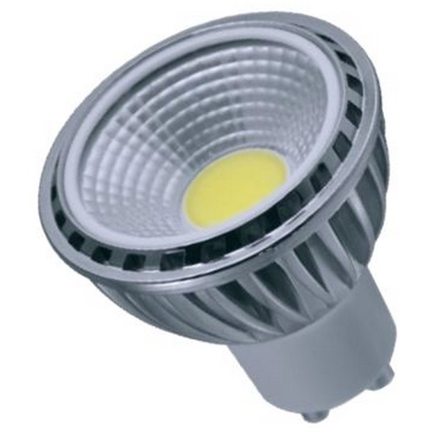 Lumineux 5W LED COB GU10 Lamp 4200K Cool White