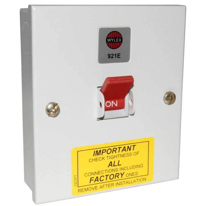 Wylex 921E 32amp Triple Pole Isolator | Wylex Switchfuses ...