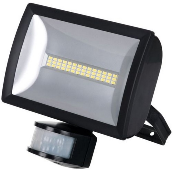 Timeguard LEDX20PIRB 20W Energy Saver Wide Beam PIR Floodlight Black