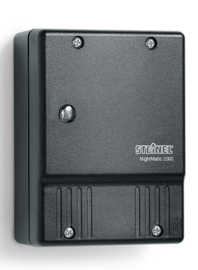 Steinel Nightmatic 2000 Adjustable Photocell Black 550318