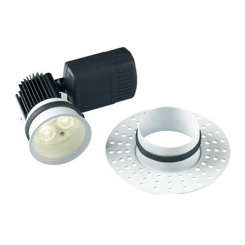 Halers H5 500 Fire Rated Trimless IP65 LED Dimmable Downlights 4000K