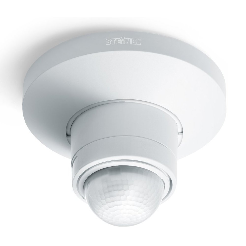 Steinel IS360D PIR Ceiling Sensor White 360 Deg 1000W