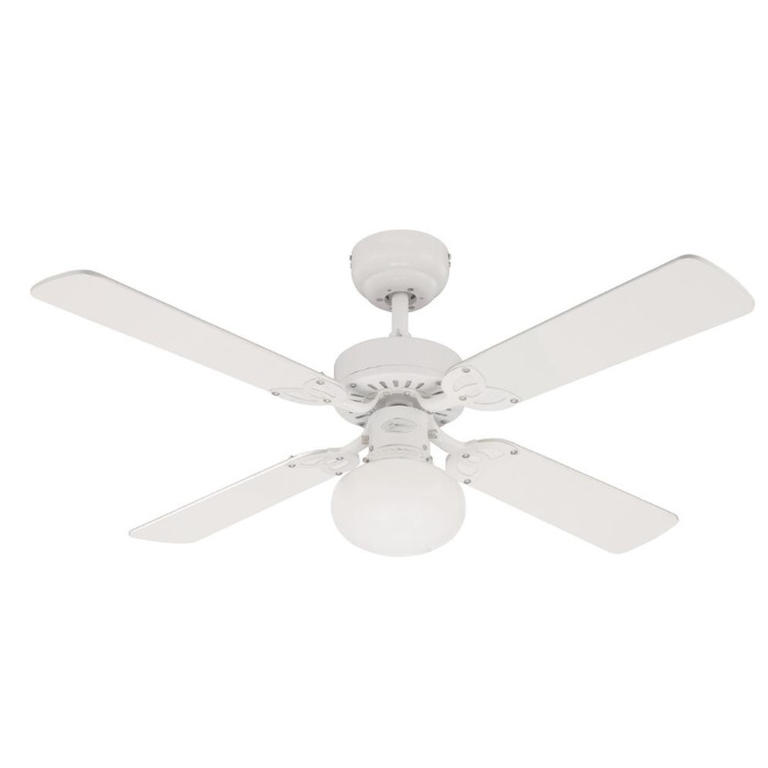 Vegas 42 westinghouse ceiling fan and light in white westinghouse vegas 42 westinghouse ceiling fan and light in white aloadofball Choice Image