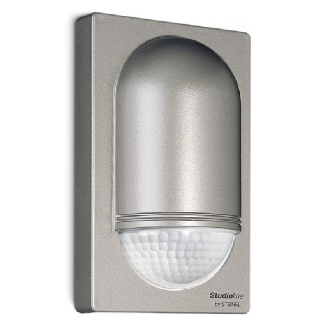 Steinel IS2180-5 Stainless Steel Effect PIR Sensor