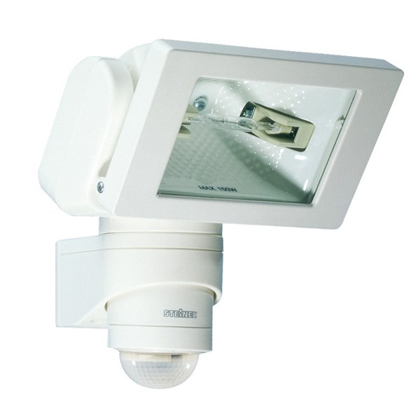 Steinel HS150 Duo PIR 150W Floodlight White 633110