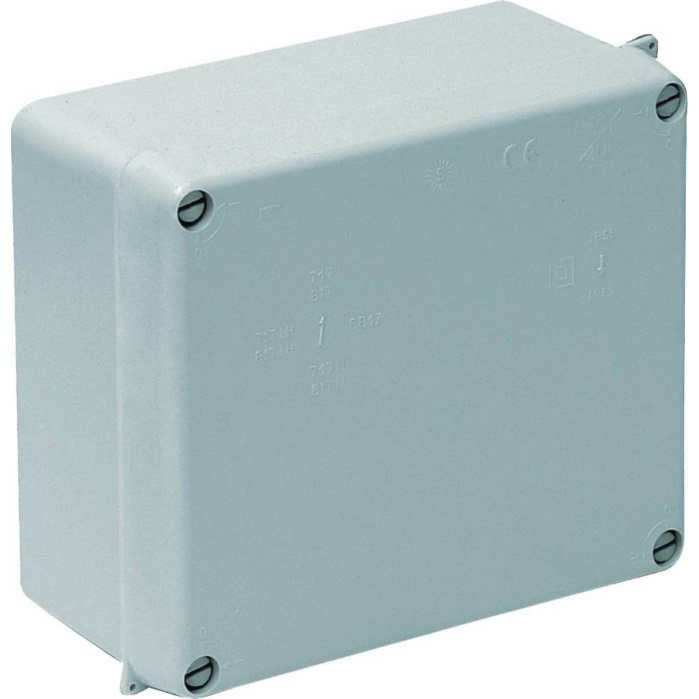 Wiska WIB 3 Adaptable Weatherproof Box 165 x 154 x 84 mm Grey