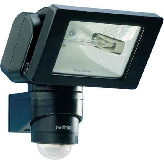 Steinel HS150 Duo PIR 150W Floodlight Black 633011