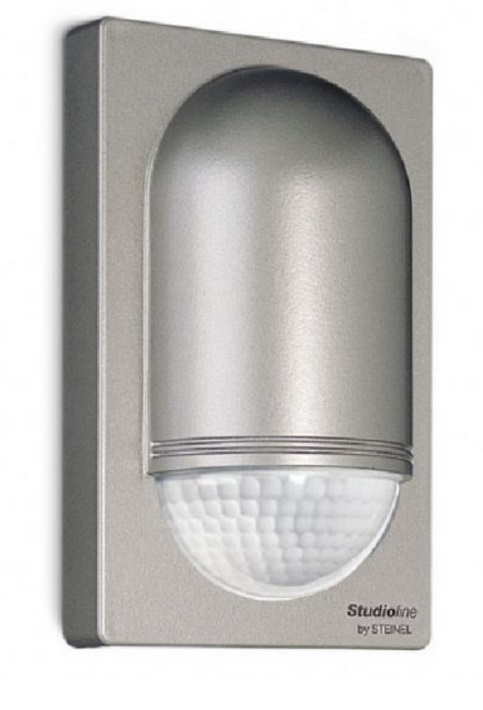 Steinel IS2180-2 Stainless Steel Effect PIR Sensor