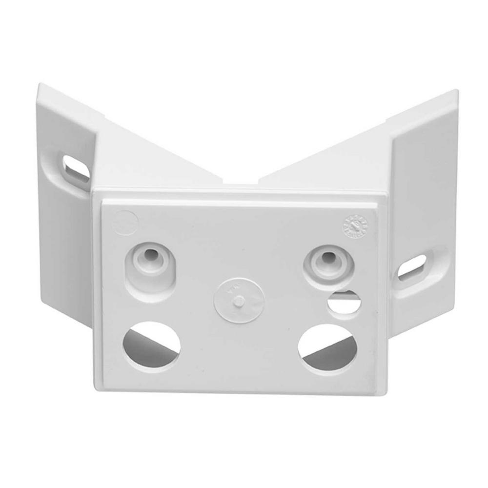 Steinel HS and FE Series Corner Bracket White